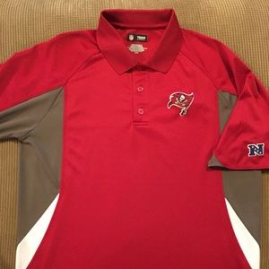 Tampa Bay buccaneers polo by NFL size large